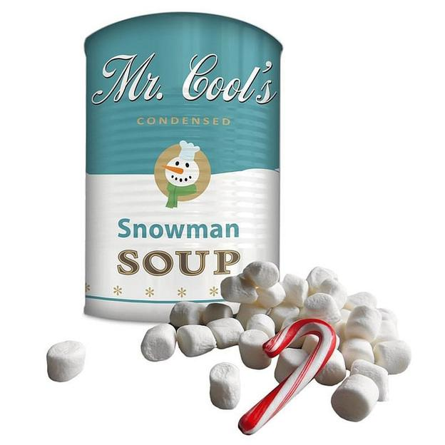 Mr. Cool's Soupe Bonhomme de neige