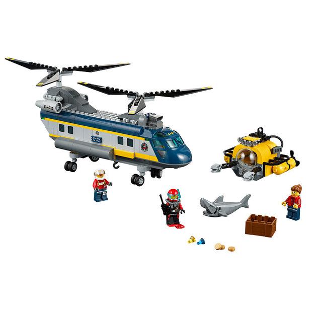 LEGO City Hélicoptère de haute-mer