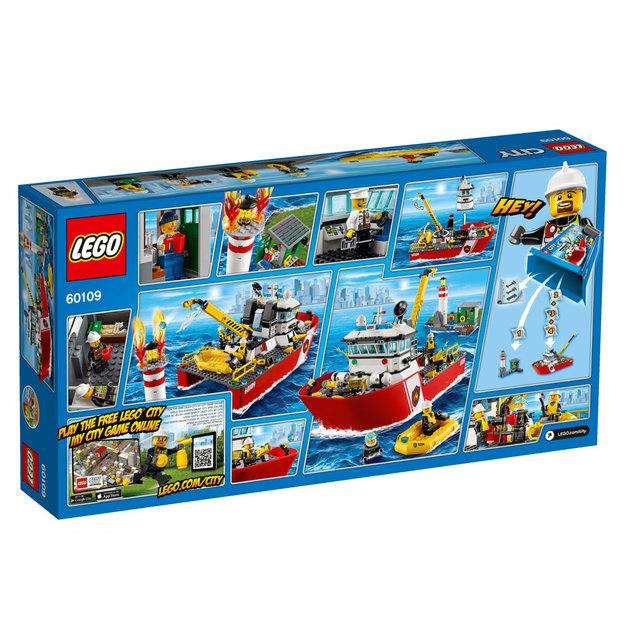 LEGO City Feuerwehrschiff