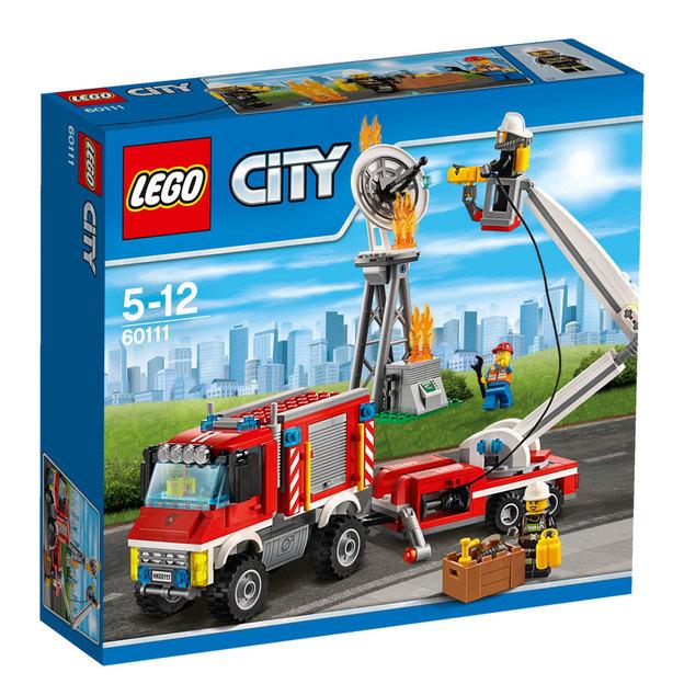 LEGO City Feuerwehr-Einsatzfahrzeug