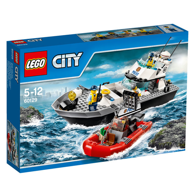LEGO City Polizei-Patrouillen-Boot
