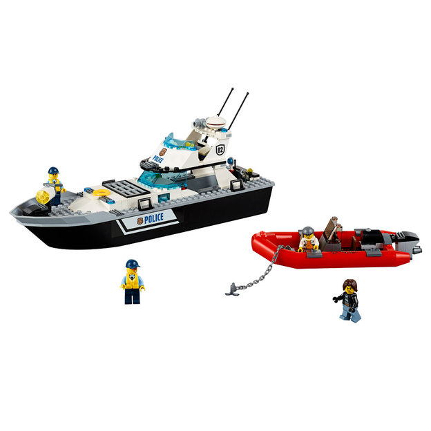 LEGO City Polizei-Patrouillen-Boot