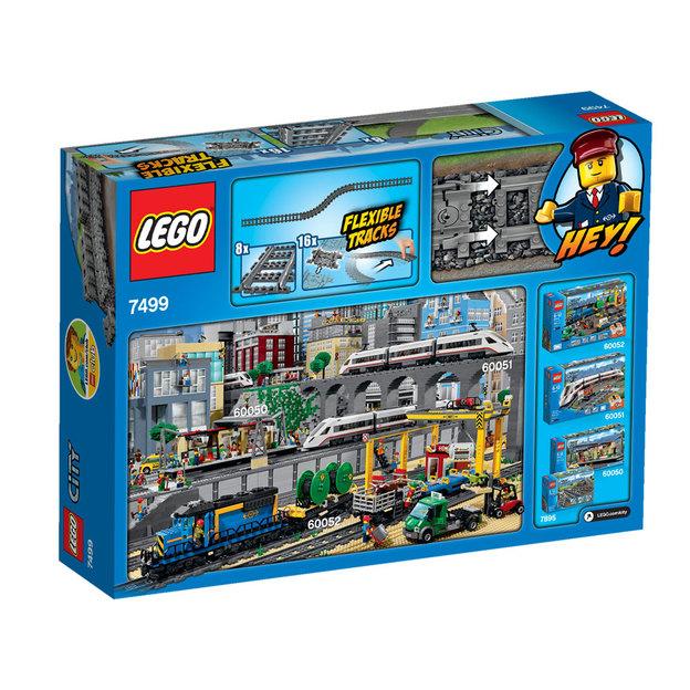 LEGO City Flexible Schienen