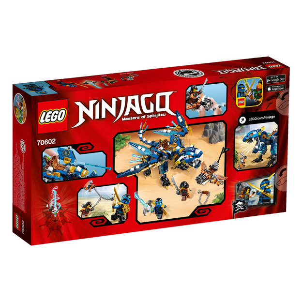 LEGO Ninjago Jays Elementardrache
