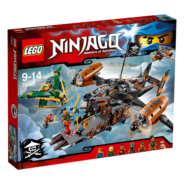 LEGO Ninjago Luftschiff des Unglücks