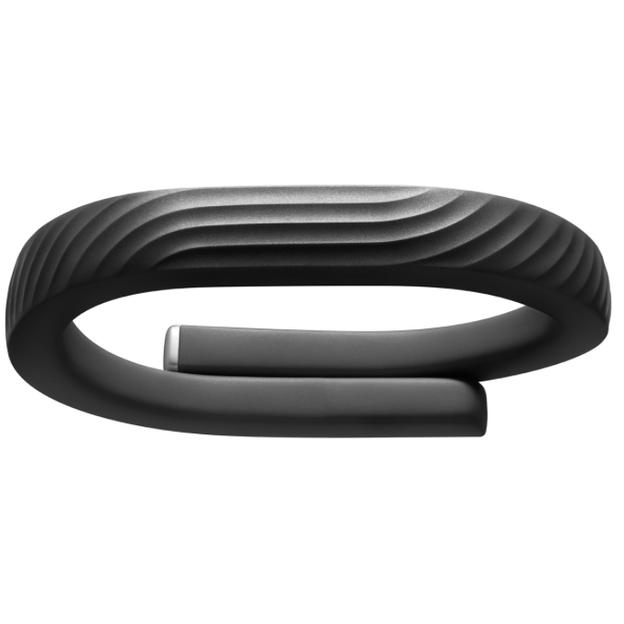 Jawbone UP 24 Bluetooth Fitnessarmband schwarz, Grösse S