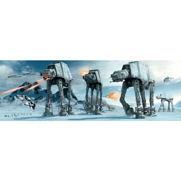 Star Wars Poster AT-AT Fight Langbahnposter 158 cm