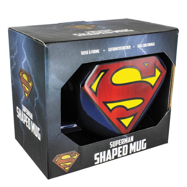 Superman Tasse geformt