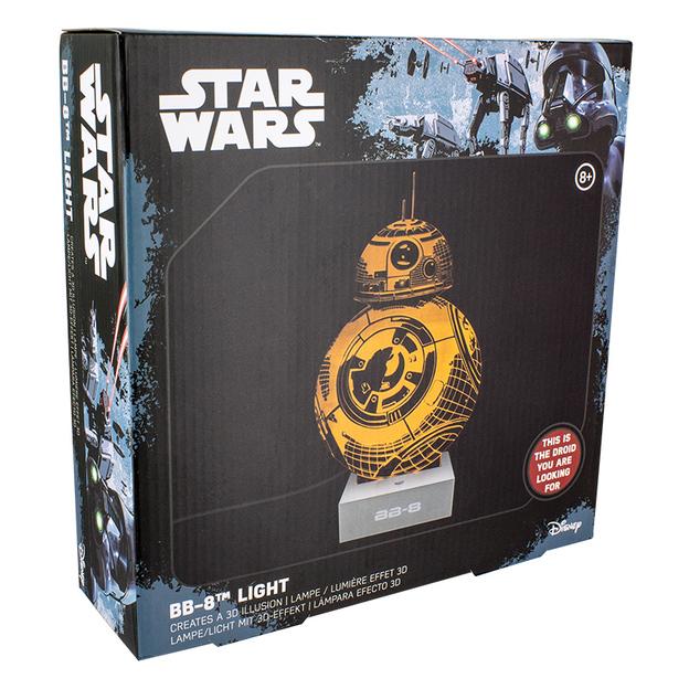 Star Wars BB8 - holografisches 3D Licht