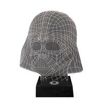 Star Wars Dark Vador lampe LED effet 3D