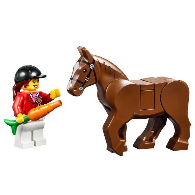 LEGO Juniors Grosse Steinebox Mädchen Ponyhof
