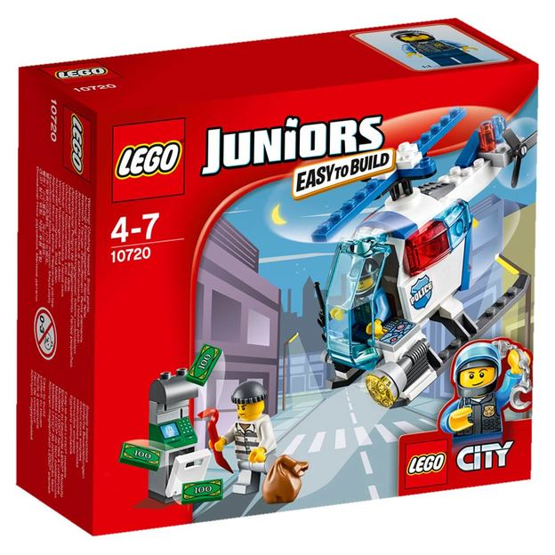 LEGO Juniors Verfolgung mit dem Polizeihelikopter