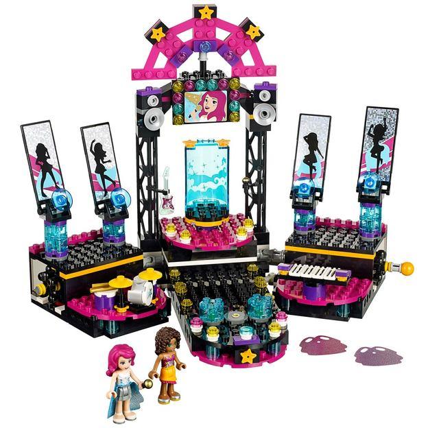 LEGO Friends Popstar Showbühne
