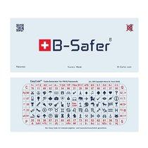 B-Safer® Ecran anti-piratage au format d'un billet de banque