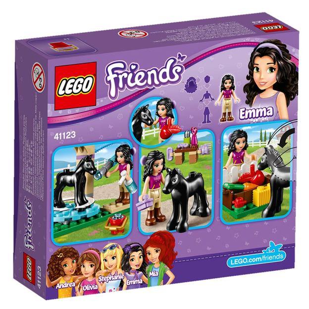 LEGO Friends Waschhäuschen für Emmas Fohlen