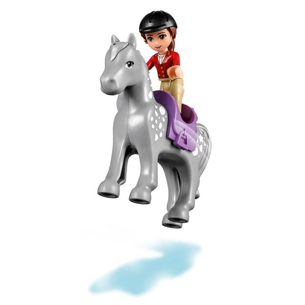 LEGO Friends Pferdeanhänger und Tierärztin