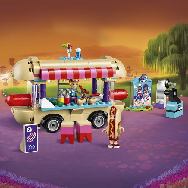LEGO Friends Hot-Dog-Stand im Freizeitpark