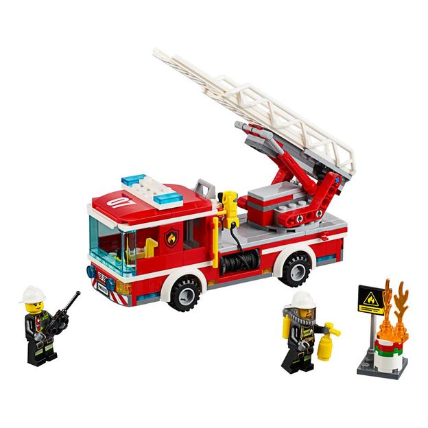 LEGO City Feuerwehrfahrzeug mit fahrbarer Leiter