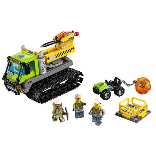 LEGO City Vulkan-Raupe