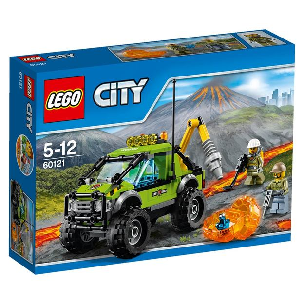 LEGO City Vulkan-Forschungstruck