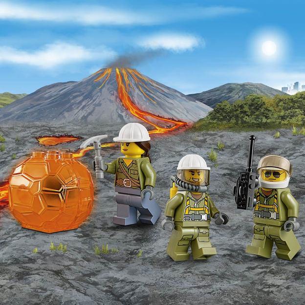 LEGO City Vulkan-Versorgungshelikopter