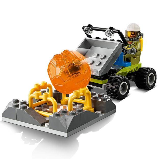 LEGO City Vulkan-Forscherstation