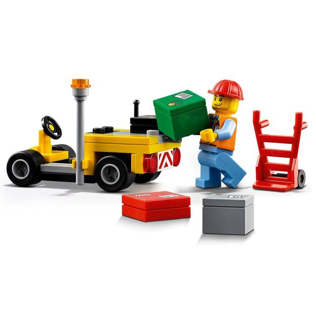 LEGO City Flughafen-Frachtflugzeug