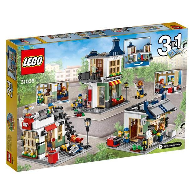 LEGO Creator Spielzeug- & Lebensmittelgeschäft