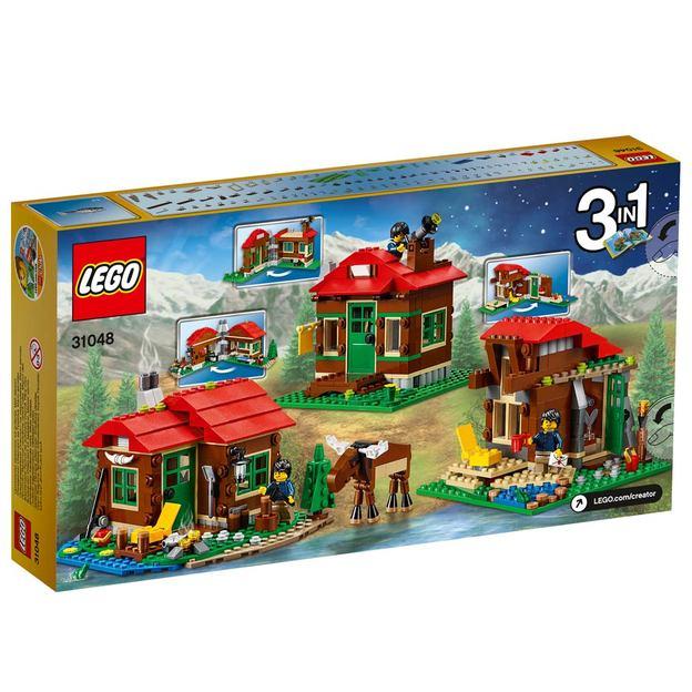 LEGO Creator Hütte am See