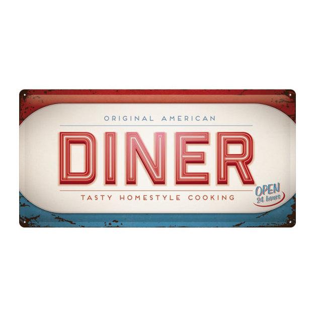 Retro Blechschild Diner