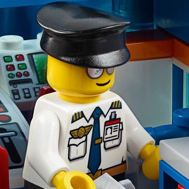 LEGO City Flughafen-Abfertigungshalle