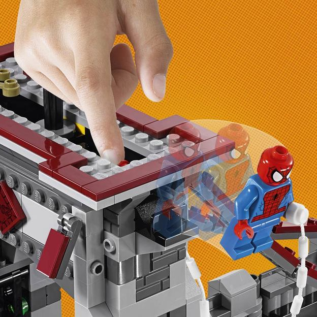 LEGO Marvel Super Heroes(TM) - Spider-Man - Ultimatives Brückenduell der Web-Warriors