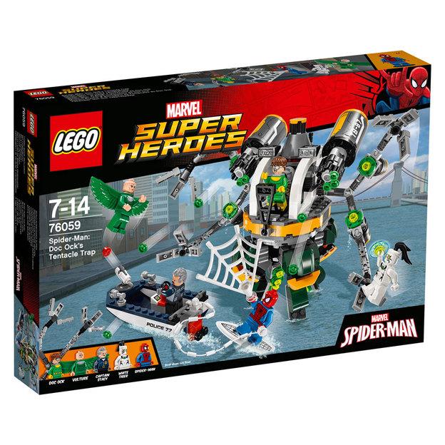 LEGO Marvel Super Heroes(TM) - Spider-Man - Doc Ocks Tentakelfalle