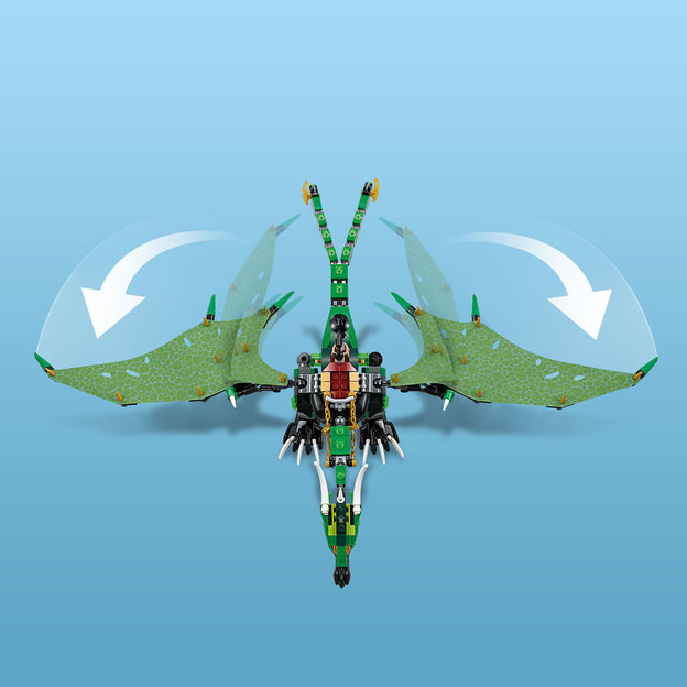 LEGO NINJAGO Der Grüne Energie-Drache