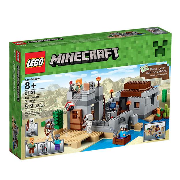 LEGO Minecraft(TM) Der Wüstenaußenposten