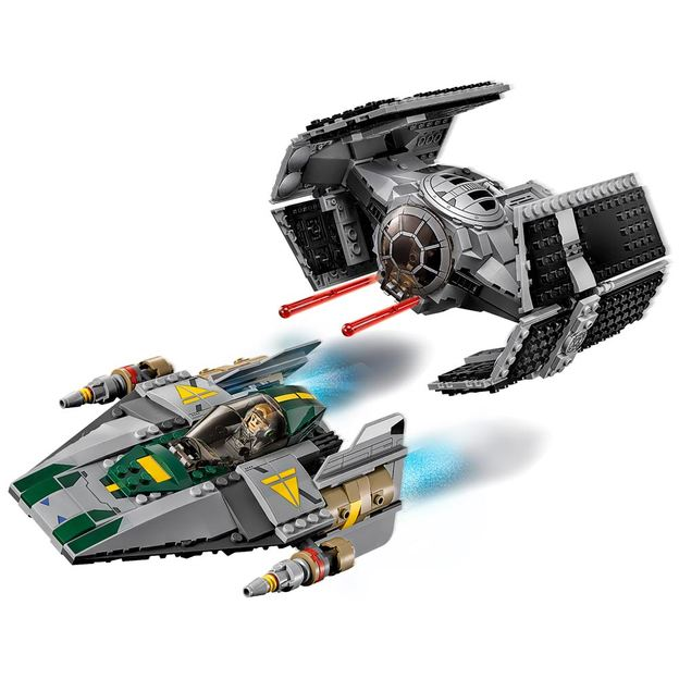 LEGO Star Wars(TM) - Vader's TIE Advanced vs. A-Wing Starfighter
