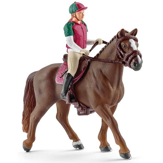 Vielseitigkeitsreiterin mit Pferd von Schleich
