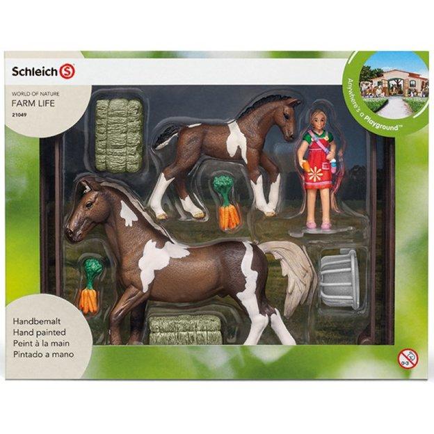 Spielset Pferdefütterung von Schleich