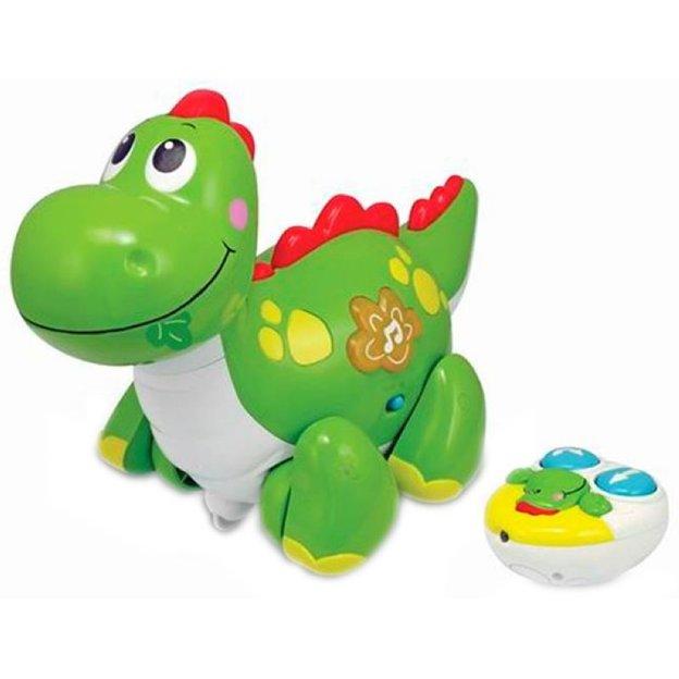 Dino mit Licht und Musik