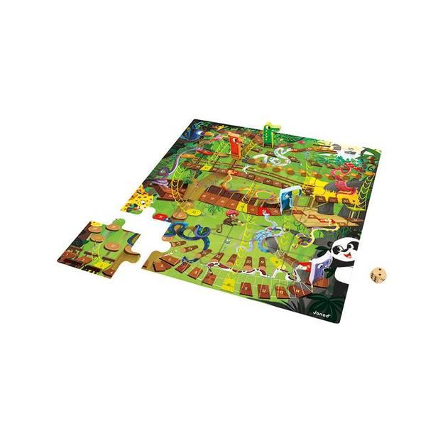 Dschungel-Leiterlispiel XXL