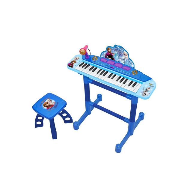 Frozen Piano mit Mikrofon