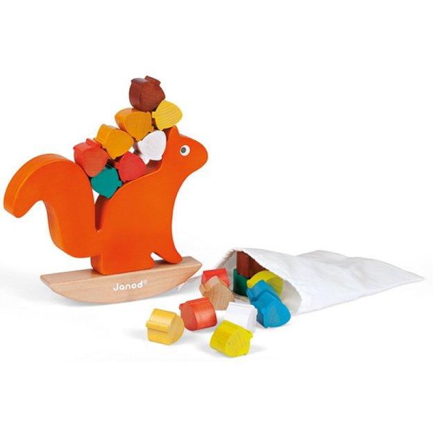 Eichhörnchen Nuss Balancespiel