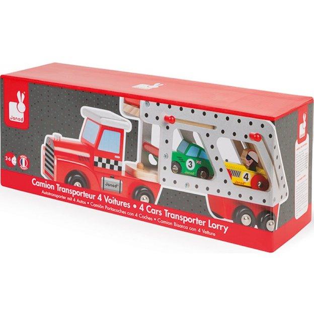 Story Formel 1 Autotransporter