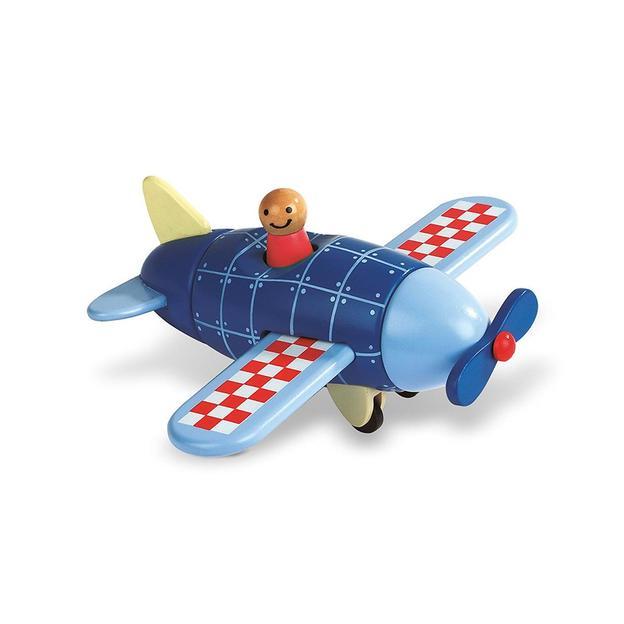 Magnetbausatz Flugzeug 6-teilig