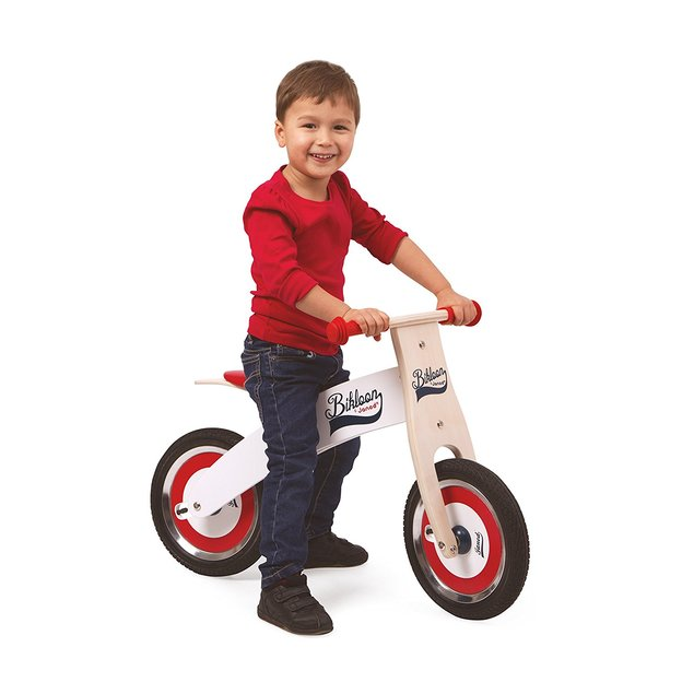 Porteurdraisienne en bois Janod – vélo ou scooter ~ Porteur En Bois Janod