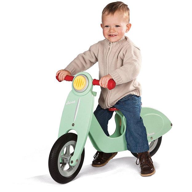 Porteur/draisienne en bois Janod – vélo ou scooter