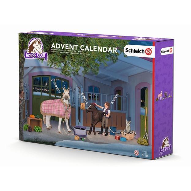 Adventskalender Pferde von Schleich