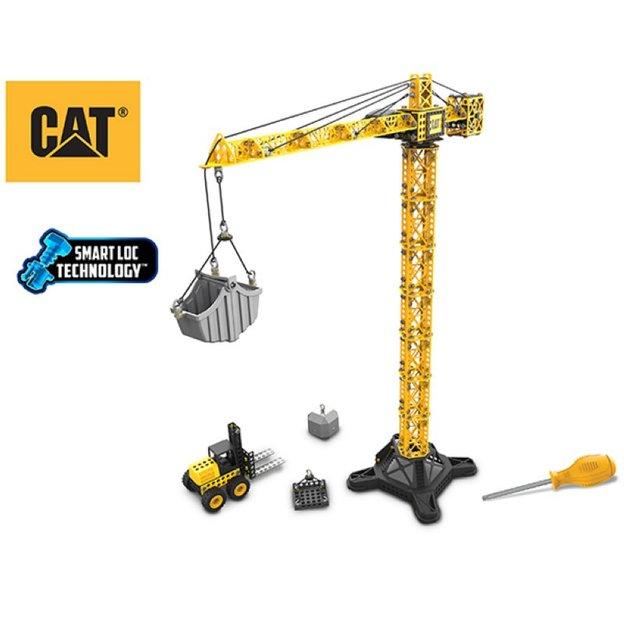 CAT Spielset Kran - Bausatz