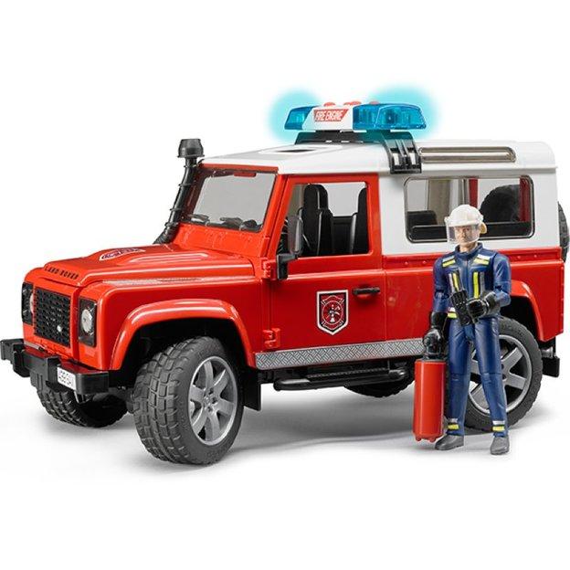 Bruder Land Rover Feuerwehreinsatzfahrzeug