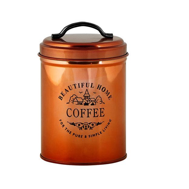 Aufbewahrungsdose Kaffee kupfer